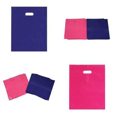 Retail Shopping Bag Merchandise Bags Plastic 15X12 100 Pack with handle boutique