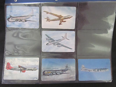 1955 F-Series 3-Minute Oats AIRPLANES Cereal Insert Cards Set (26) EX-MT1955 F-S