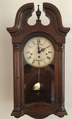 Howard Miller Westminster Chime German Movement Wall Clock Model 613-227