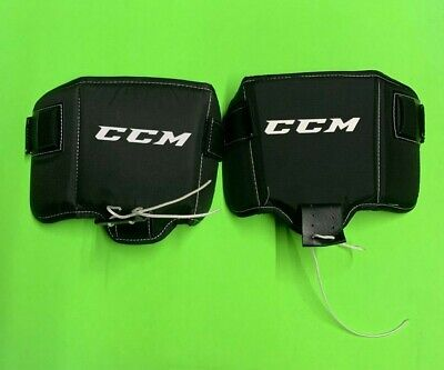 CCM Pro Goalie Thigh Pad! Pads Pad Knee Goaltender Protection Black New TPPRO