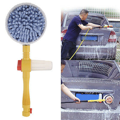 Car Wash Switch Water Flow Foam Car Washer Brush Rotating Brush Auto Clean Tools