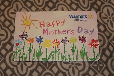 Collectible Gift Card Walmart No Value= Mothers Day 2017