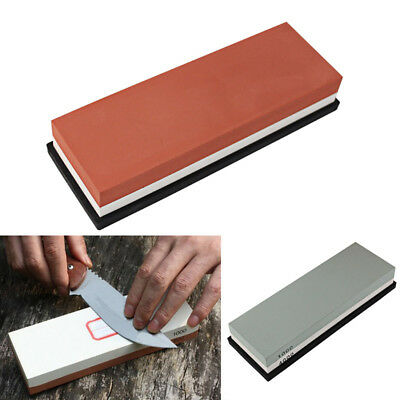 Manual Water Wet Grindstone Whetstone Kitchen Knife Dual Side Flattend Whetstone