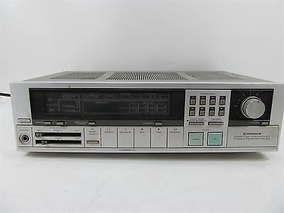 Vintage Pioneer Sx-40 Computer Controlled Stereo Receiver