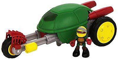Turtles Deluxe Half-Shell Heroes Stealth Bike with Racer Raph (U1W)