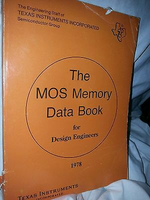 TEXAS INSTRUMENTS The MOS Memory Data Book 1978