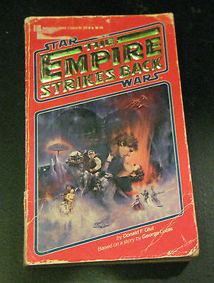 Star Wars The Empire Strikes Back Donald F. Glut Paperback