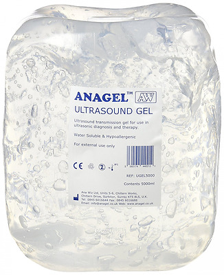 Anagel Pregnant Use Fetal Dopplers Ultrasound Gel Clear Colourless Bottle 5L
