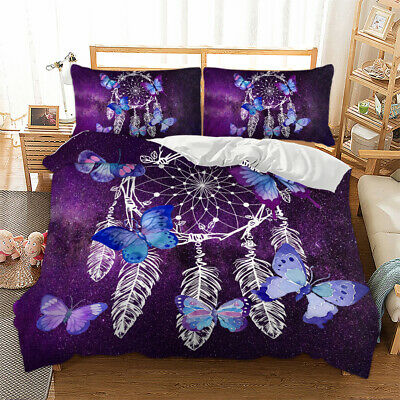 Red Floral Quilt/Duvet/Doona Covers Set Queen Size Bed Cover Bedding Pillow Case
