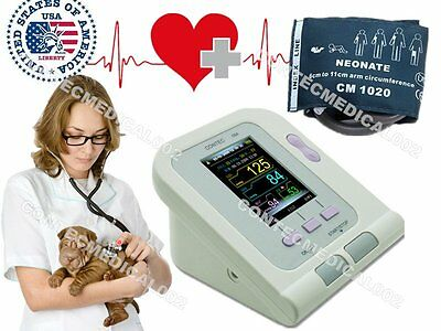 New ,CONTEC08A Digital Blood Pressure Monitor for VET ,NIBP+cuff,Sales