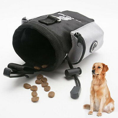 Pet Dog Training Treat Snack Bait Dog Obedience Agility Outdoor Pouch Food Bag