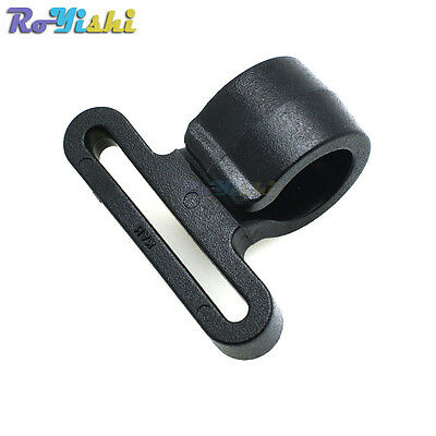 """1""""(25mm) Plastic Snap Hooks Backpack Buckle Black Free Shipping"""