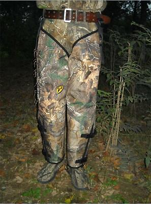 Camo Waterproof Snake Proof Hunting Gaiters Leg Guard Armor Protector Gear