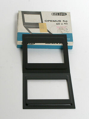 Meopta 60x45 Carrier Insert For Opemus 5A