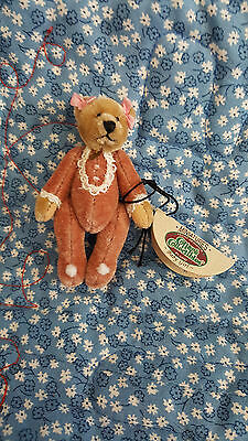 """GANZ Cottage Collectibles Mini -- Mary Holstad -- 3"""" Baby Girl -- MWT"""