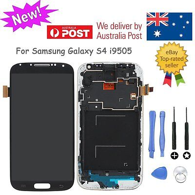 LCD Display Touch Screen Digitizer Assembly Black For Samsung Galaxy S4 i9505 AU
