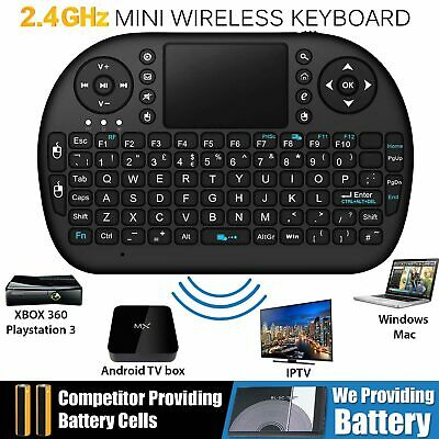 2.4G Wireless Fly Air Mouse Keyboard Remote Touchpad For KODI Android TV BOX PC