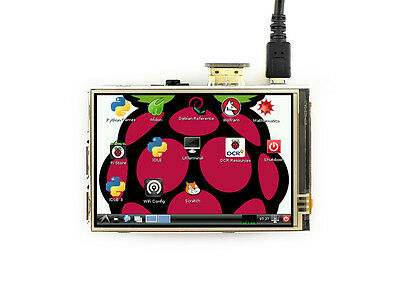 3.5inch HDMI LCD 480x320 Resistive Touch Screen IPS Display for all Raspberry Pi