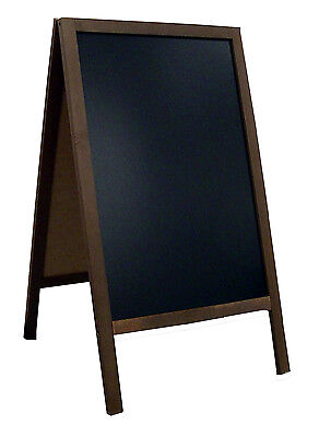 Frame board Sidewalk pavement sign menu double sided restaurant chalkboard FL2