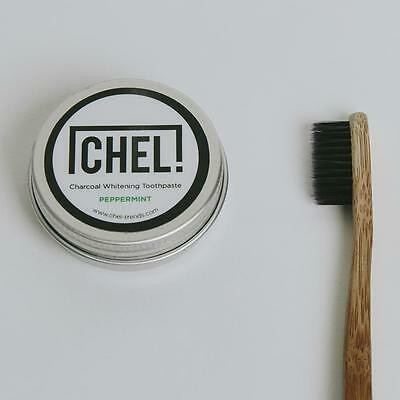 Charcoal Toothpaste + 2 Charcoal Toothbrushes // 2 Flavours Available