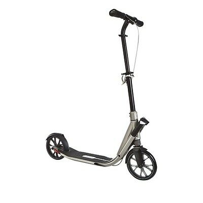 OXELO TOWN 9 Easy Fold ADULT SCOOTER - TITANIUM