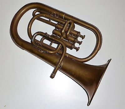 Antique F Besson 198 Euston Road London Tenor Horn