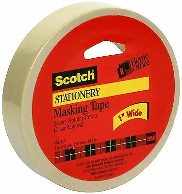 Scotch Stationery Masking Tape 1in x 55yd 1 ea