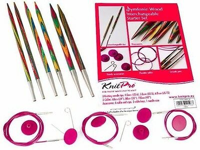 KnitPro Symfonie Wood IC Circular Knitting Needle Starter Set Knit Pro