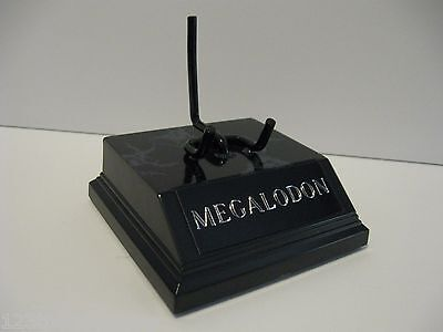 "Megalodon Shark Tooth Display Stand 3 1/4"" For Shark Fossil Tooth Not Included"