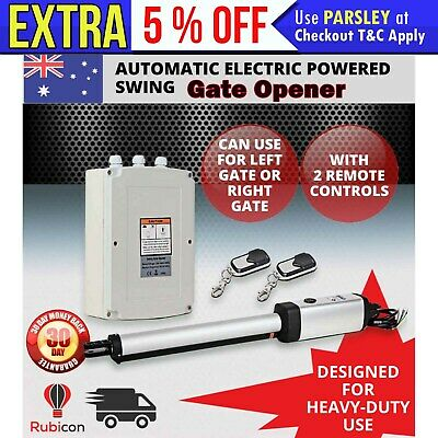 AUTOMATIC 1 ARM SWING *GATE OPENER*  w/  2 Remote Control 500kg