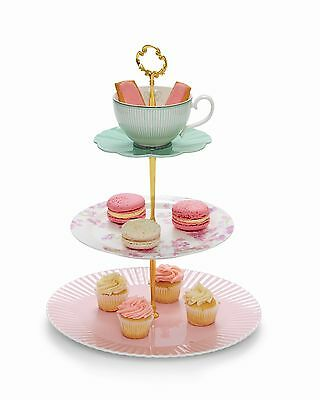 Salt & Pepper Eclectic 3 Tier Cake Stand RRP $59.95
