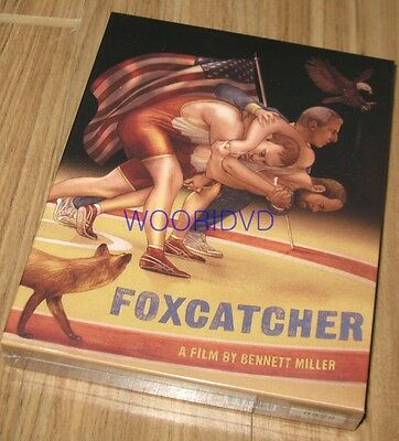 Foxcatcher / Plain Archive / Keep Case Blu-Ray Limited Edition Sealed