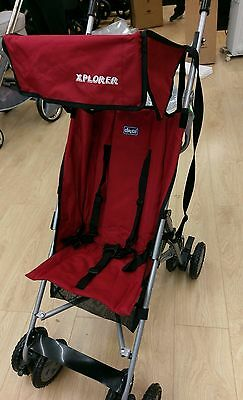 Chicco Ex Display red Explorer Buggy