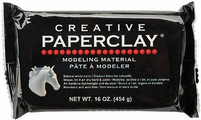 Creative Paperclay 16 once-bianco (a8u)