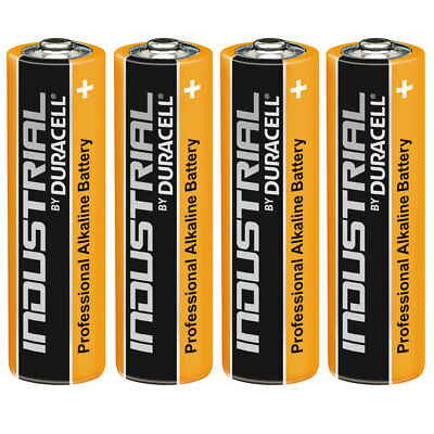4 Duracell Industrial AA Alkaline Batteries Replaces Procell MN1500 1.5V LR6