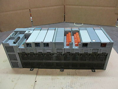 Allen Bradley Slc500 10 Slot Rack #428843T Cat#1746-A10 Sn:a10-1194N 1683 Used