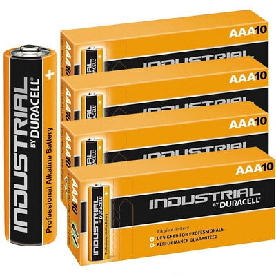 40 Duracell Industrial AAA Alkaline Batteries Replaces Procell MN1500 1.5V LR03