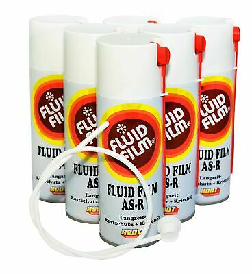 21,17€/L Hodt Fluid Film AS R 6x400ml Nas Spray+ Düse Hohlraumversiegelung