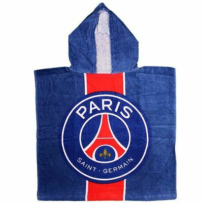 Serviette bain piscine poncho Paris Saint Germain 50x100 psg  neuf