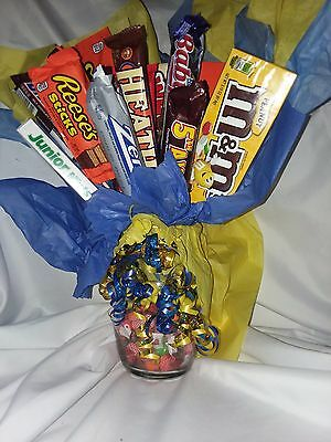 Large Personalized Candy Bar Bouquet
