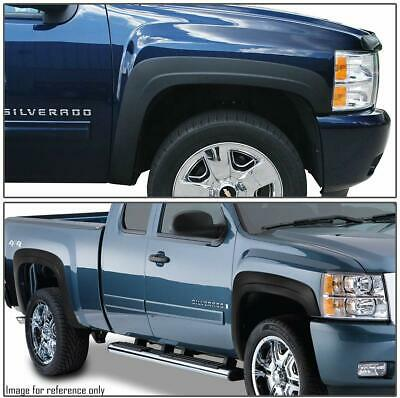 07-13 Chevy Silverado 1500 2500HD/3500HD  Rivet Fender Flares Pocket style