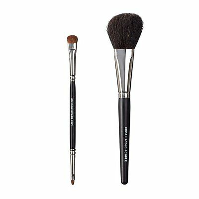ON&OFF, Set di 2 pennelli da trucco, Duo Detail Deluxe e Chisel Angle (y2Y)
