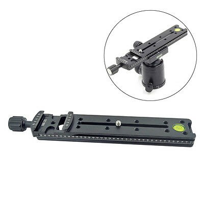 NNR-200 200mm Rail Nodal Slide for Macro Panoramic Arca RRS camera Support Stand