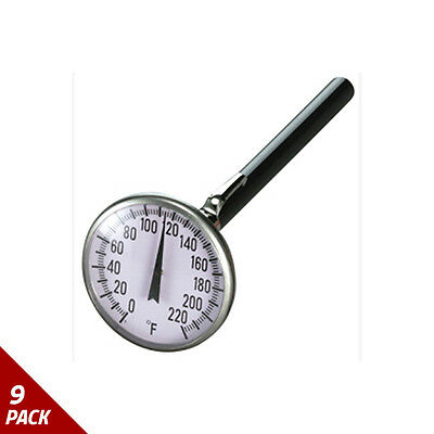 "Mastercool 1-3/4"" Pocket Thermometer [9 Pack]"