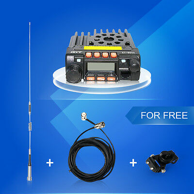 QYT KT8900 136-174/400-480MHz dual band Mini Mobile Radio Transceiver + Antenna