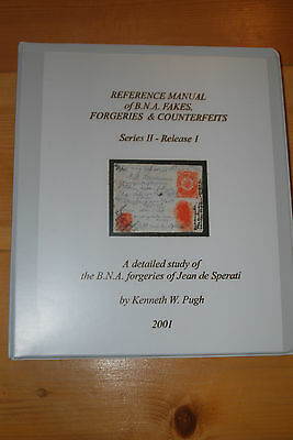 Weeda Literature: Pugh Reference Manual Series II Release 1, Sperati forgeries