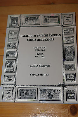 Weeda Literature: Catalog of Private Express Labels and Stamps, US & Canada