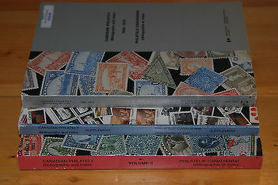 Weeda Literature: Cimon Morin Canadian Philately Bibliography & Index, 3 vol set