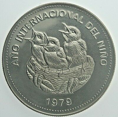 1979 Costa Rica 100 Colones (PF) Proof Condition International Year of the Child