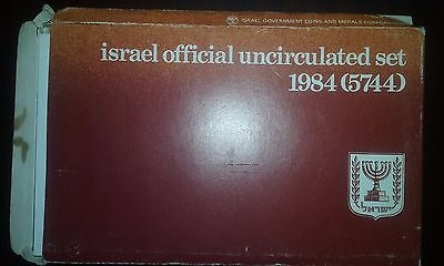 1984 (5774) Israel official uncirculated set (9 coins in a set)